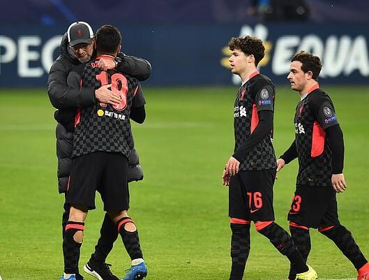克洛普赞后防新组合表现 利物浦失意王牌终复苏