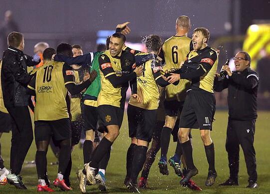 Marine FC是英格兰第八级别球队,主场在默西塞德郡,和利物浦是街坊