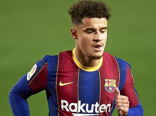 巴塞罗那预备在一月份卖掉库蒂尼奥