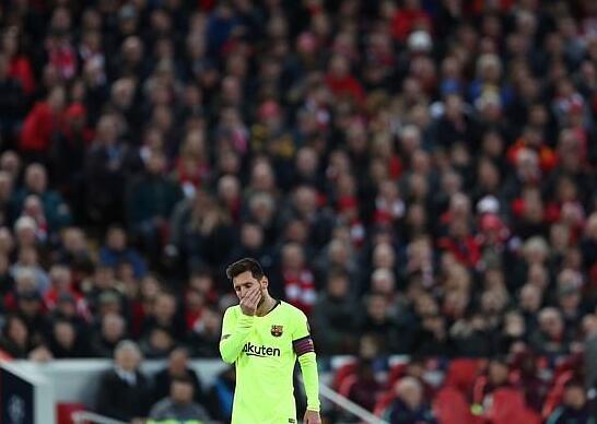梅西被自己儿子刺激了:我是利物浦的 打败你了!