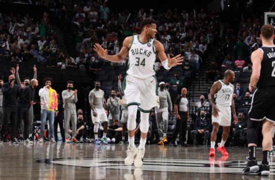 雄鹿0-2落后仍翻盘晋级 本季出现3次创NBA纪录