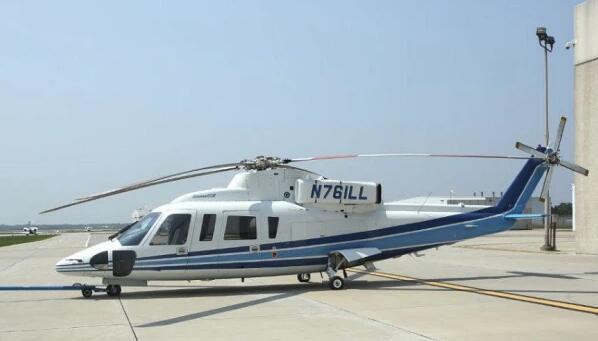 直升机型号为Sikorsky S-76B