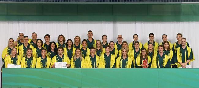 澳大利亚奥运游泳队名单公布 共35人韩裔小将入选