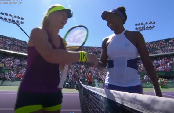 WTA迈阿密赛大威逆转晋级