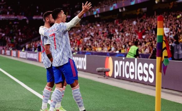 C罗连续16个赛季欧冠进球 追平梅西本泽马纪录