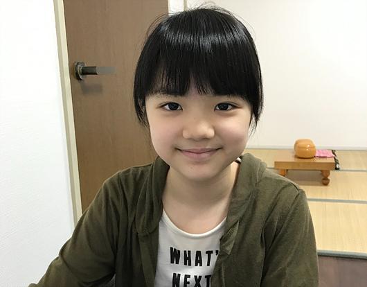 仲邑堇初段