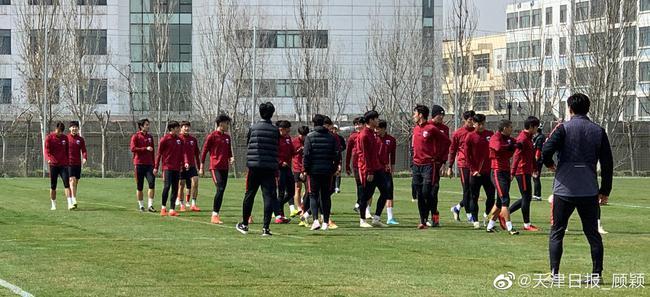 天海正式训练李玮锋仍负责 新股东让球员安心备战
