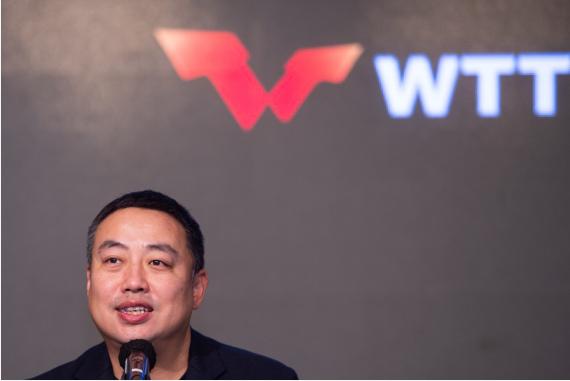 刘国梁:WTT新赛制需要酌量 但乒乓球必须立异