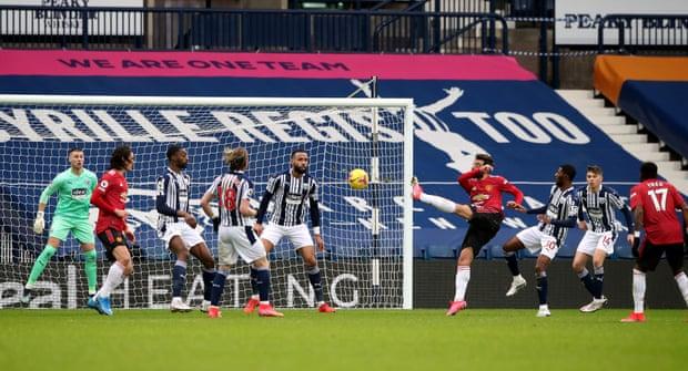 曼联客场1比1战平西布朗,前中超射手迪亚涅开出83秒进球