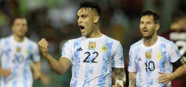 世预赛:阿根廷3比1胜委内瑞拉  劳塔罗科雷亚进球(图1)