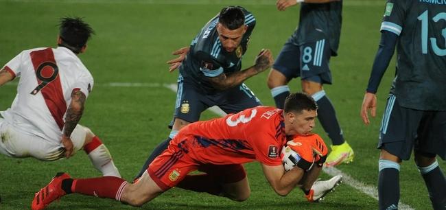 世预赛-劳塔罗头球致胜  阿根廷1比0秘鲁