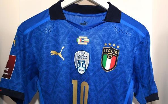 意大利新款冠军球衣亮相!欧洲冠军图标 能穿三年
