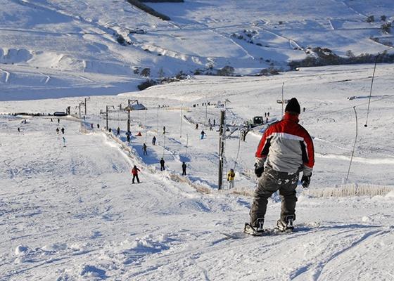 Yad Moss滑雪场位于英格兰北部