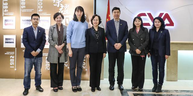 全國婦聯副主席吳海鷹女士到訪排球中心