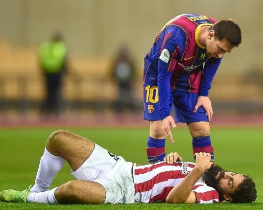 巴塞罗那俱乐部将对梅西红牌导致的两场禁赛提出上诉