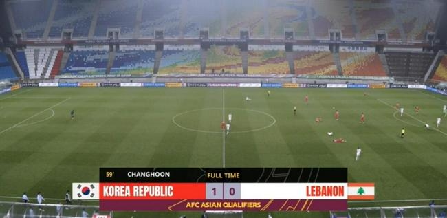 世预赛-权昶勋抢点得分 韩国雨战1比0小胜黎巴嫩