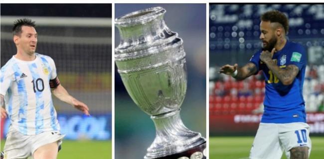 美洲杯巨星比拼:梅西全面占优  内马尔只一项领先