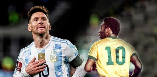 超越贝利的南美进球纪录  梅西用了16年153场比赛