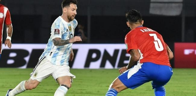 世预赛:巴拉圭主场0比0阿根廷  梅西数次制造杀机