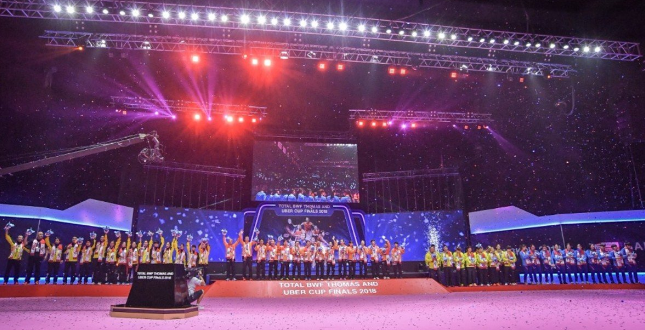 泰羽协承认三站尖端赛举行场馆 为IMPACT会展中心