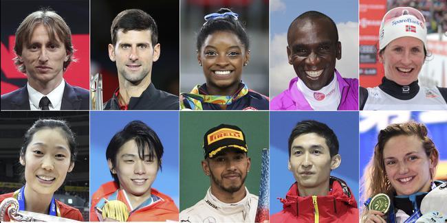 新华社体育部评出2018年国际十佳活动员
