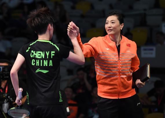 张宁:职业生涯无遗憾 看好陈雨菲东京奥运夺冠