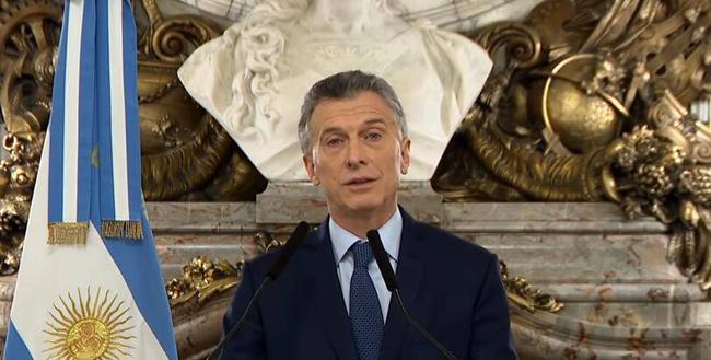 阿根廷总统祝贺河床