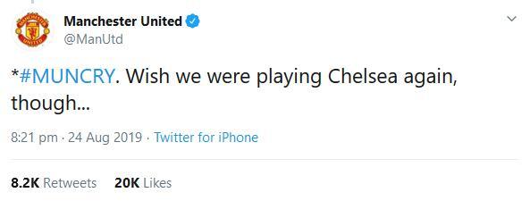 尴尬!曼联嘲讽切尔西惨遭现世报 哪来的底气啊