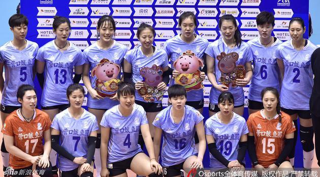 排超八强战辽宁女排3-2上海女排