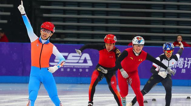 中国杯短道速滑精英赛精彩瞬间