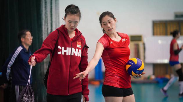 张常宁回归中国女排漳州集训