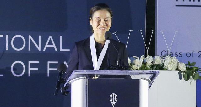 中国骄傲!李娜正式入驻网球名人堂