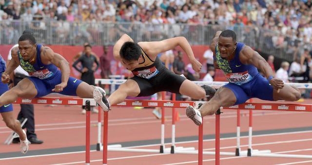 钻石联赛男子110米栏 谢文骏惊险夺冠