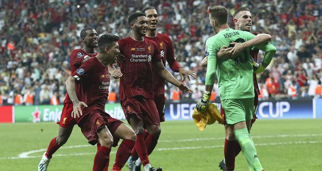歐洲超級杯-利物浦點球勝切爾西奪冠