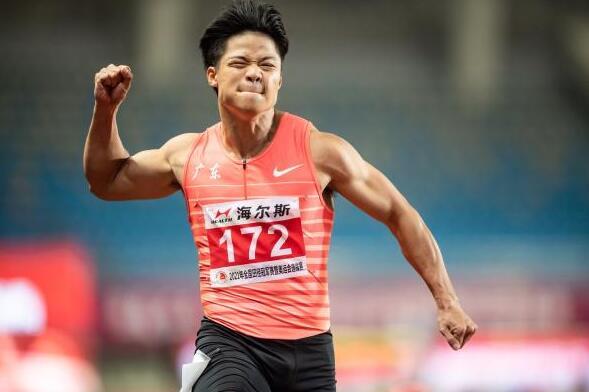 苏炳添被美国百米悍将维堆 但东京奥运会目标仍然不变,将是……