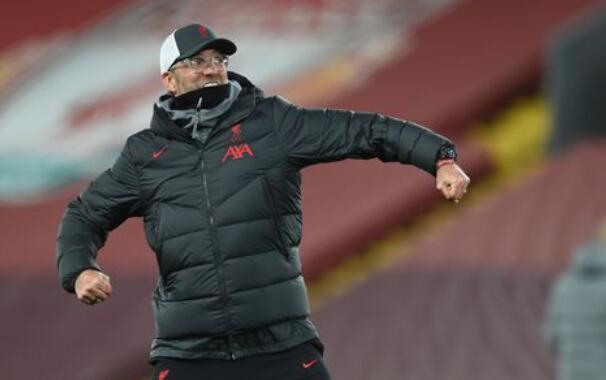 克洛普喝彩利物浦完美大捷 赤军已挨近夺冠情况