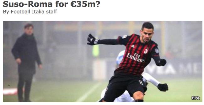4000万欧!罗马撬AC米兰大腿替巴萨截胡之人