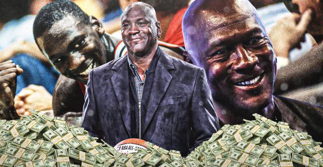 美媒发布NBA球星财物榜 乔丹22亿美元稳居第一