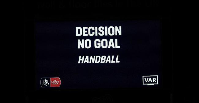 VAR鉴定众尔蒂进球无效