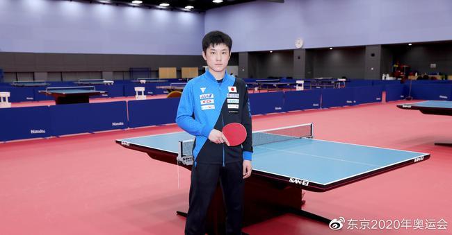 张本智和:能进奥运阵容是梦想 希望赢得个人奖牌