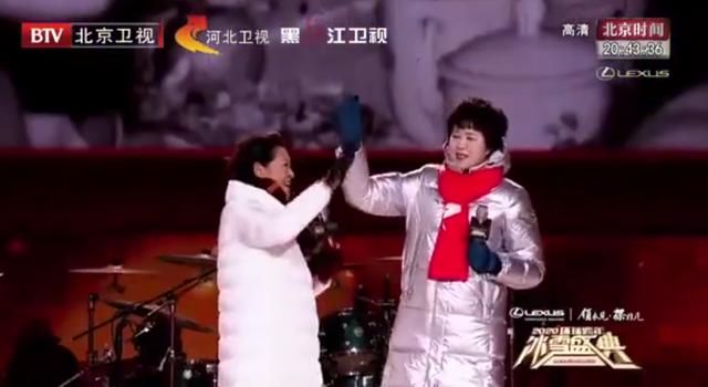 郎平倪萍跨越三十年再聚首 了不起的女人世纪拥抱