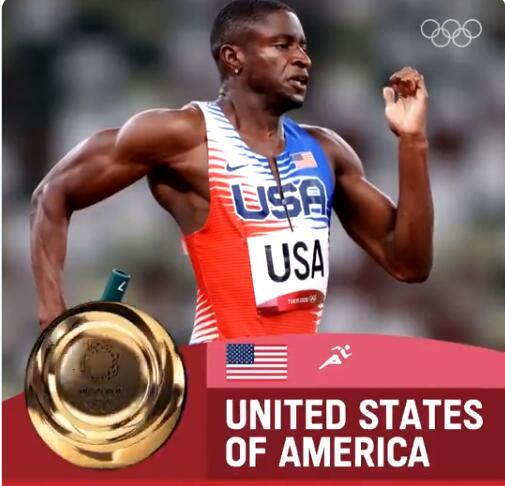 男子4乘400米接力美国队夺冠 荷兰绝杀惊喜摘银
