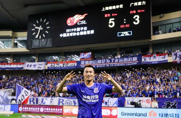 沪媒:金信煜征服申花球迷 为何没中国球员和他加练