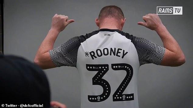 鲁尼正式加盟德比郡 将以球员兼教练的身份效力