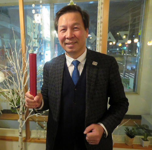 前日本男乒总教练、现日本乒协强化部部长宫崎义仁
