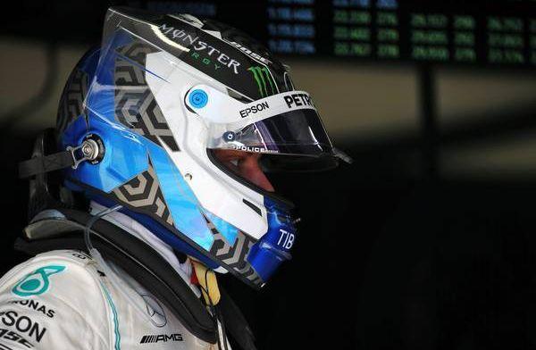 博塔斯的賽車在第二天的試車中遭遇電子故障