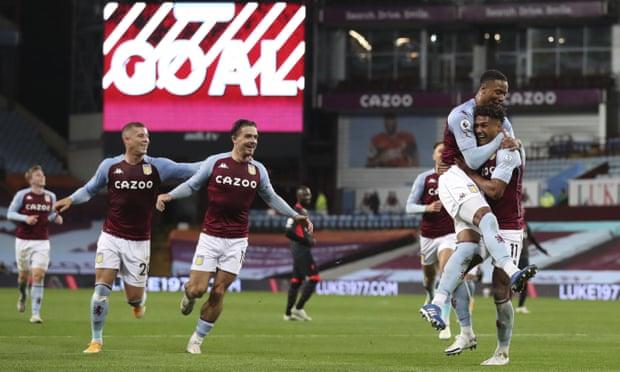 英超-维拉新援帽子戏法 萨拉赫2球 利物浦2-7惨败