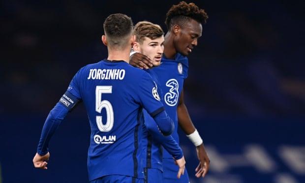 欧冠-维尔纳点球梅开二度 切尔西半场2-0领先