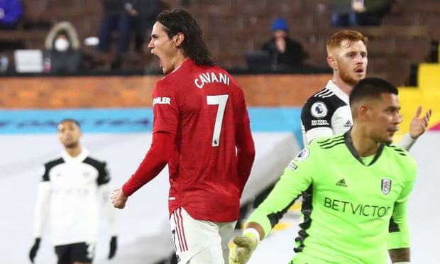 英超-卡瓦尼进球 博格巴世界波 曼联2-1逆转领跑