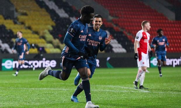 阿森纳4年3进欧联四强 89年来首次连4客场进3+球
